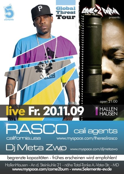 Flyer Rasco in Hallenhausen by Dela Soné Santiago